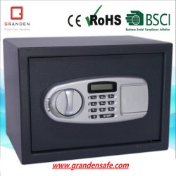 Electronic Digital Safe with LCD Display for Office (G-25EL) Solid Steel