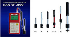 Hardness Tester Probes with D/Dl/D+15/DC/C/G/E Type