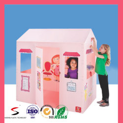 Munfacture Wholesale Corrugated PP Foldable Kids Playhouse