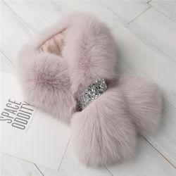 21d63b90d3866 Fashion Real Cape Shawl Collar Wholesale Fox Fur Ladies Winter Scarf