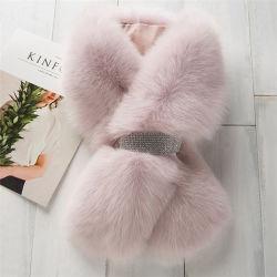 Fashion Real Cape Shawl Collar Wholesale Fox Fur Ladies Winter Scarf