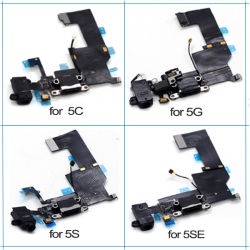 Mobile Phone Flex Cable Charging Port Flex for iPhone 5g 5s 5c 6g 6s 6splus 7g 7plus