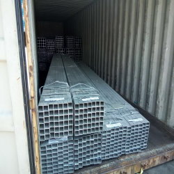 All Sizes Available Structural Zinc Coated Welded Square Pre Galvanized Rectangular Steel Pipe in China Stocks