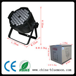 54X3w PCS RGBW LED Wash PAR Can PAR Light