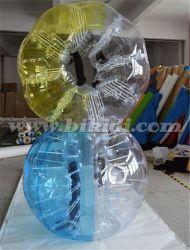 Cheap Bumper Ball Inflatable Ball Half Color TPU Bubble Soccer Bubble Ball Bubble Football Equipment D5017