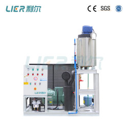 Flow Slurry Ice Machine for Fishery, Seafood Trawlers 0.8t/Day
