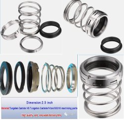 Mcm-250 Pump Seal, Mechanical Seal Type1, Mission Pump Seal, Diamond Coating Seal