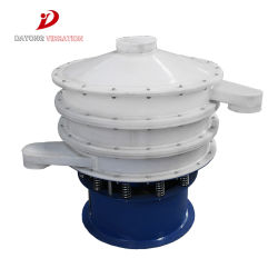 PP Plastic Material Mini Rotary Vibrating Sieve Machine Vibration Sifter