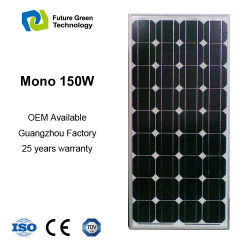 Wholesale Solar Panel Module 150W Monocrystalline Cell for Home