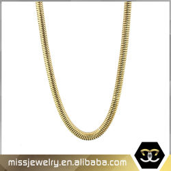 Wholesale Price 14K Gold Snake Chain Designs for Ladies