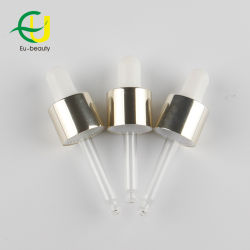 20/415 Shiny Gold Aluminum Dropper for Bottle
