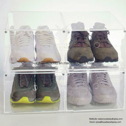 2018 Best Choice Acrylic Nail Shoe / Sport Shoe Display Boxes for Athletes