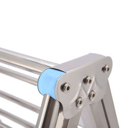 Wings Shape Stainless Steel Metal Cloth Drying Rack Laundry Hanger Rack