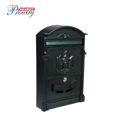 Classic Cast Aluminum Mail Box Letter Box Post Box