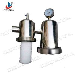 Stainless Steel Polished Air Compressor Part Factory Gas (Steam) Filter Housing