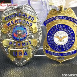 China Police Badge, Police Badge Wholesale, Manufacturers, Price
