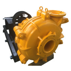Horizontal Centrifugal Rubber Lined Mining Trash Water Slurry Pump