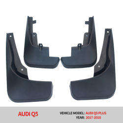 High Quality Fashion Design Splash Guard Mud Flaps Mudguards Car Accessories for Audi Q5 Sport Version with Wheel Lip Flare 2015 2016 2017 2018 Fender
