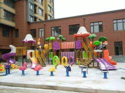 Amusement Park Plastic Slide Playground (YL24484)