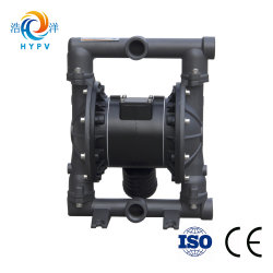 "Aodd Shanghai Slurry Pneumatic Pump Water Mud Aluminum Alloy Pump Air Double Diaphragm 1"" Pump"