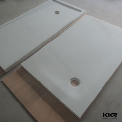 Acrylic Solid Surface Stone Resin Shower Tray Base Composite