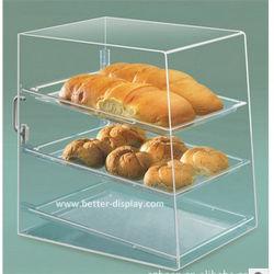 Clear Acrylic Organic Glass Bread Storage Box (BTR K3002)