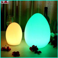 9e467fa116c LED Stand Desk Egg Lamp Christmas Lighting with 16 Colors