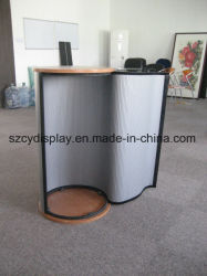 Advertising Display Banner Stand Round Promotion Table