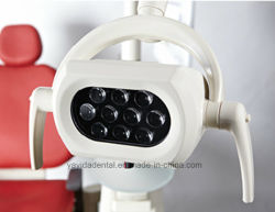 Ce, ISO Approved High Quality Colorful Electric Dental Unit Chair with LED Sensor Lamp