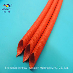 Fiberglass Sleeving Coated Silicone Resin for Wire Harness Cable Protection