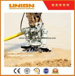 Doosan Amphibious Dredging Excavator with Sand Cutter Suction Dredging Pump