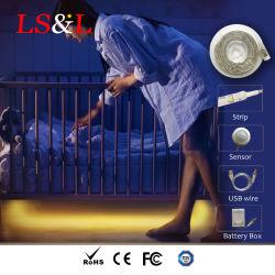 Human Infrared Sensor LED DIY Bed Light Flexible