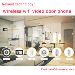 Newest Technology WiFi Wireless Video Door Phone Doorbell for Home Security System
