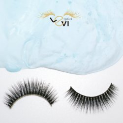 Customer Package Popular Selling Wispy Soft and Natural Synthetic Artificial Eyelash