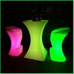 Lighted Bar Furniture LED Light Up Cocktail Tables