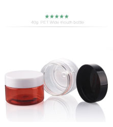 20g 30g 40g 50g 80g 100g 120g 150g 180g 200g 250g 250g  Plastic Cream Pet Moisture Lotion Jars for Body Butter