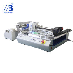 Advanced Chip Mounter Pneumatic Feeder Auto Calibrate SMT Pick and Place Machine