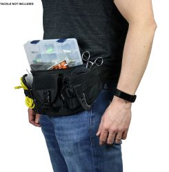Fishing Tackle Bag, Waist Fanny Pack Portable Storage, Crossbody Sling Bag