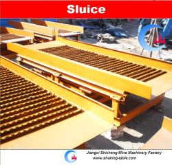 Shaking Sluice Box for Gold Tailings