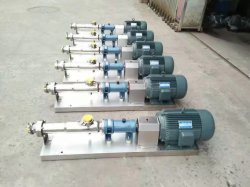 Factory Directly Sale Screw Pump for Mortar for Slurry and Oil