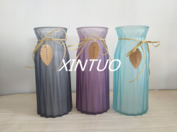 Supply Good Colored Glass Vase with Competitive Prices