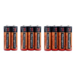 Hot Sale 1.5V Size AA R6 Um3 Super Heavy Duty Dry Battery for Toy Car