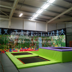 Cheer Amusement Commercial Trampoline Park Equipment