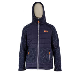 Sport Outdoor Padding Hoodie Hybrid Jacket for Women