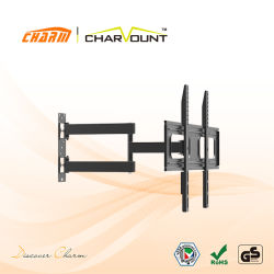 Max Vesa 600X400mm Full Motion LCD LED TV Wall Mount (CT-WPLB-8001BL)