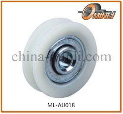 Plastic Pulley Nylon Bearing for Window and Door (ML-AU018)