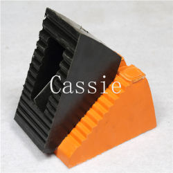 High Quality Rubber Wheel Chock Chocks Wedge Tire Block Safety Chock Rubber Wheel Stopper