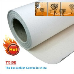 Painting Canvas 42*18m Wholesale Printed Poly Cotton Blend Inkjet Art Canvas 380g Grade Products According To Quality Painting Supplies