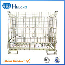 Metallic Stack Galvanized Wire Mesh Container Used for Storage