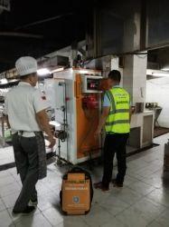 Kitchen Food Rice Steamer Diesel Oil Fired Steam Boiler